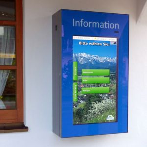 Wallgau Karwendel Touch-Info Terminal WEBtis-SMART 32 Zolle-Display